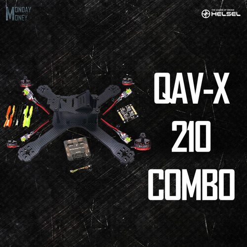 QAV-X 210 CF kit with SP F3 combo