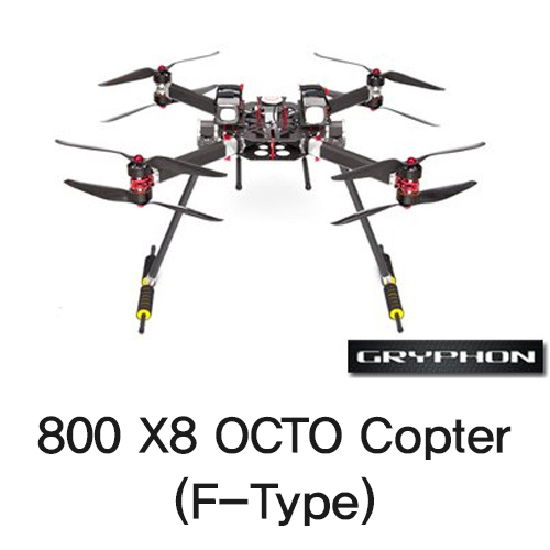 [Gryphon Dynamics] 800 X8 OCTO Copter (F-Type)