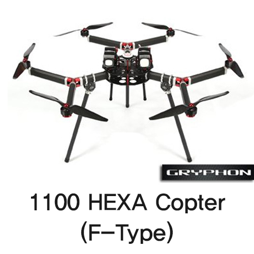 [Gryphon Dynamics] 1100 HEXA Copter (F-Type)