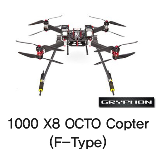 [Gryphon Dynamics] 1000 X8 OCTO Copter (F-Type)