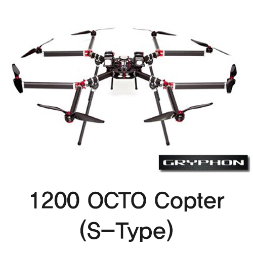 [Gryphon Dynamics] 1200 OCTO Copter (S-Type)