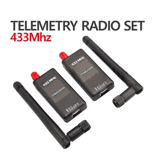 픽스호크 텔레메트리 Transceiver Telemetry Radio 100mw 433Mhz